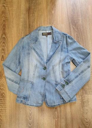Винтажный джинсовый пиджак (деним) bigrope