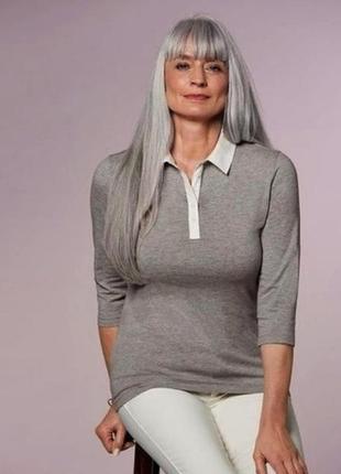 Трикотажная рубашка поло м 40-42 евро esmara.