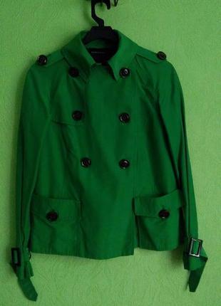 Куртка лёгкая zara, жакет демисезонный, пиджак на подкладке, плащ, ветровка.