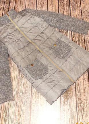 Демисезонное фирменное пальто для девочки  12-14 лет, 152-164 см