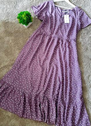 Романтичне плаття зі штапелю