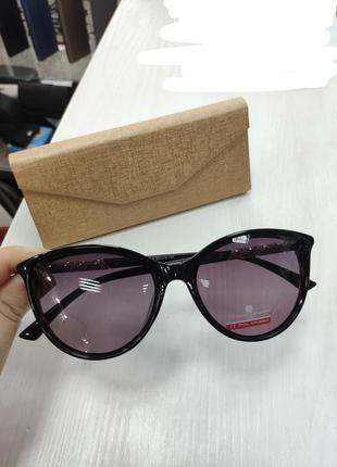 Красивые классические солнцезащитные женские очки christian lafayette polarized