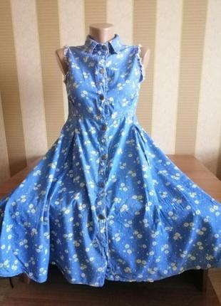 Джинсовое платье💕джинсова сукня