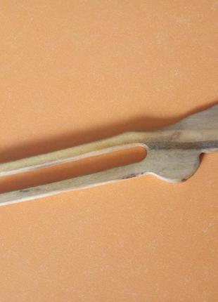 Заколка для волос деревянная эко