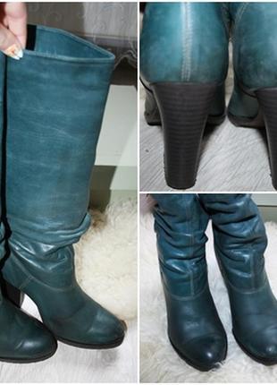 08cda9a512c82b ... Стильні зимові шкіряні чоботи, польської фірми kabala - vero gomma, 39  р.5