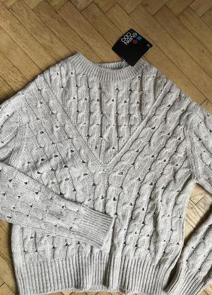 Светр новий розмір м шерсть свитер