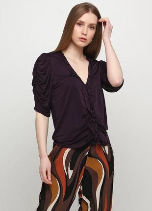 Сливовая летняя блуза uterque
