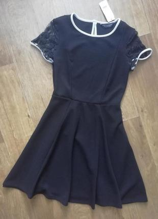 📢распродажа! красивое платье с кружевом на рукавах, сукня, плаття, сарафан