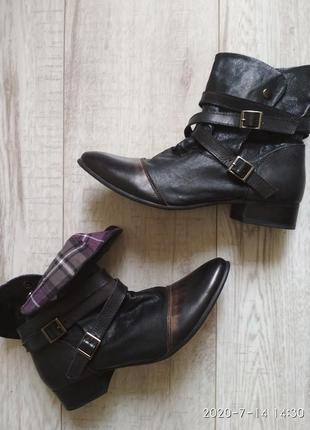 Франция kdopa girl кожаные ботинки