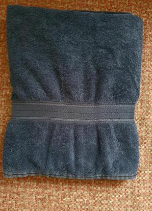 Большое банное полотенце 100×140см