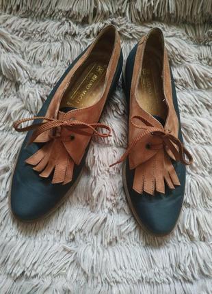 Шикарнющие итальянские туфли bruno magli