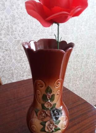 Новая советская качественная керамическая ваза.