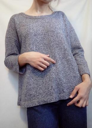 Серый свитер m&s