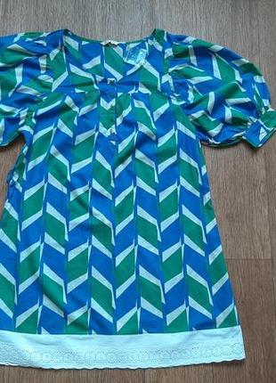 Платье летнее из хлопка с прошвой