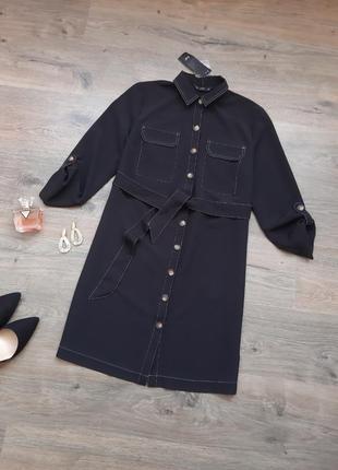 Стильное платье рубашка. плаття сорочка