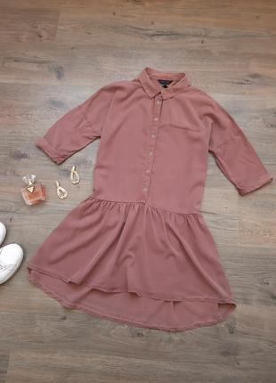 Стильноеплатье рубашка. плаття сорочка