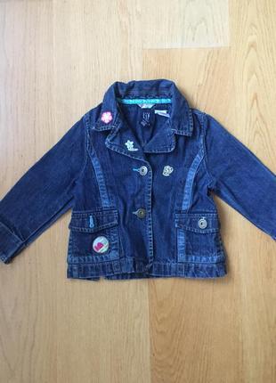 Джинсовая куртка джинсовка gap