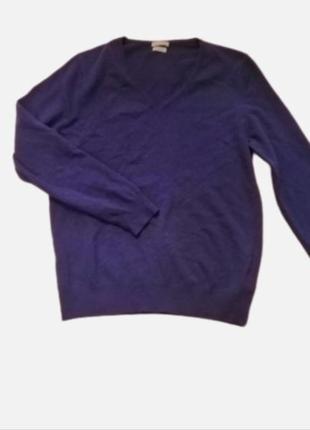 Нежный базовый реглан свитер джемпер 💯 шерсть woolmark