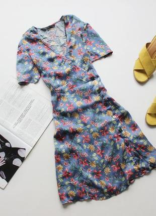 Красивое платье в цветы с 8