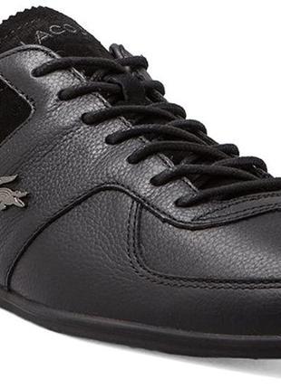 Кроссовки туфли мужские 100% кожа lacoste