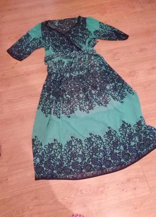 Очень красивое, нарядное платье, доставка за мой счёт.