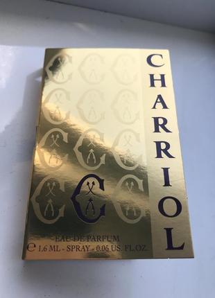 Фирменный пробник charriol edp