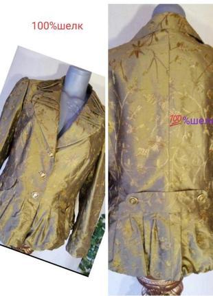 Женский жакет, пиджак блейзер батал