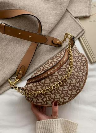Поясная сумка в стиле dkny {разные цвета}