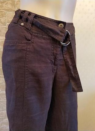 Шикарные льняные брюки на высокую леди