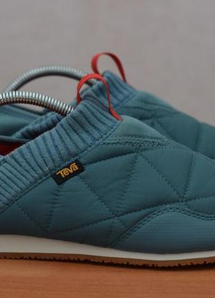 Бирюзовые теплые кроссовки, полуботинки teva, 40 размер. оригинал