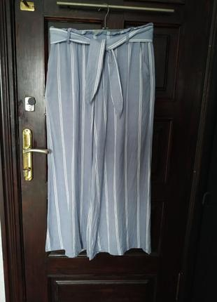 Шикарные широкие брюки палаццо h& m.