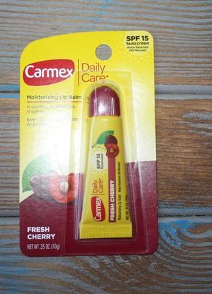 Бальзам для губ carmex вишневый (тюбик)