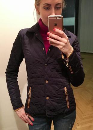 Стёганная курточка massimo dutti