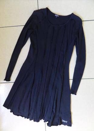 Dkny тоненьке трикотажне плаття xs-s