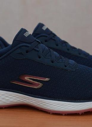 Синие удобные кроссовки skechers go golf eagle-range, 40-41 размер. оригинал