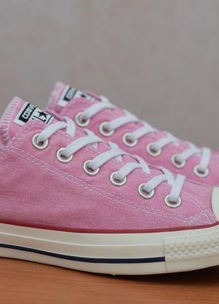 Розовые кеды, кроссовки цвета барби converse all star, 39 размер. оригинал