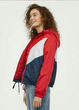 Куртка комбинированная h&m divided