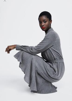 Супер лёгкое платье с карманами от zara