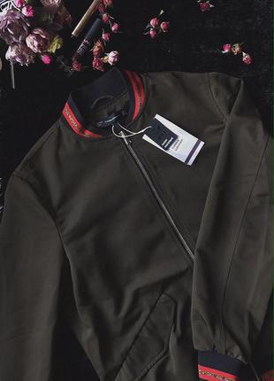 Водонепроникний бомбер (куртка)  zara
