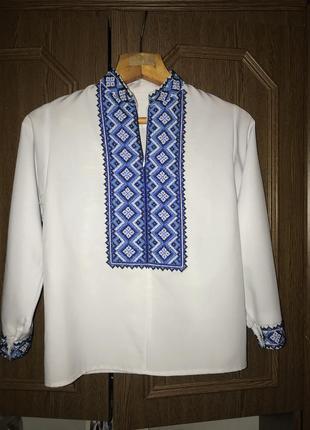 Сорочка вишивана бісером
