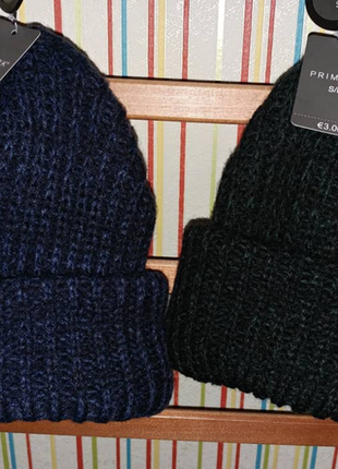 Теплые шапочки фирмы primark