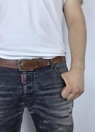 Практичный кожаный ремень