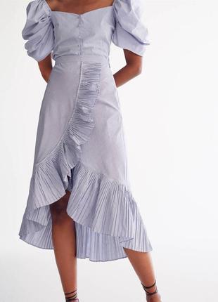 Модная блуза с объёмными рукавами uterque
