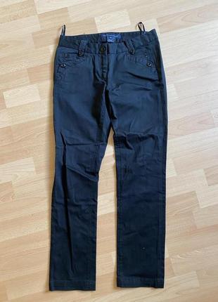 Чёрные штаны брюки zara