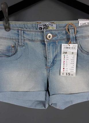Джинсовые шорты европейского качества, распродажа