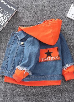 Крутая джинсовка, джинсовый пиджак