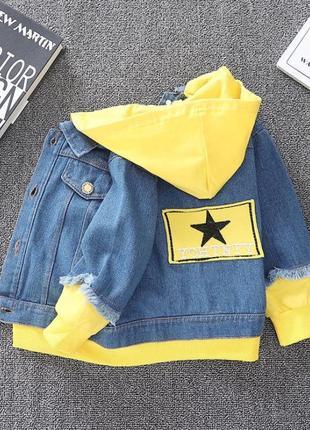 Стильная джинсовка,пиджак
