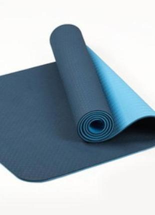 Килимок для йоги та фітнесу