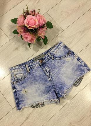 Стильные джинсовые шорты от new look