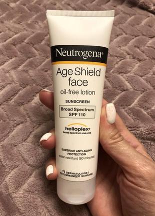 Солнцезащитный лосьон для лица neutrogena spf 110